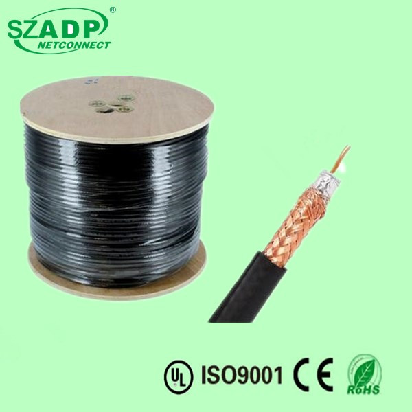 High Quality Coaxial Bulk Cable RG59 75 Ohm video , 1,000 foot Spool Price