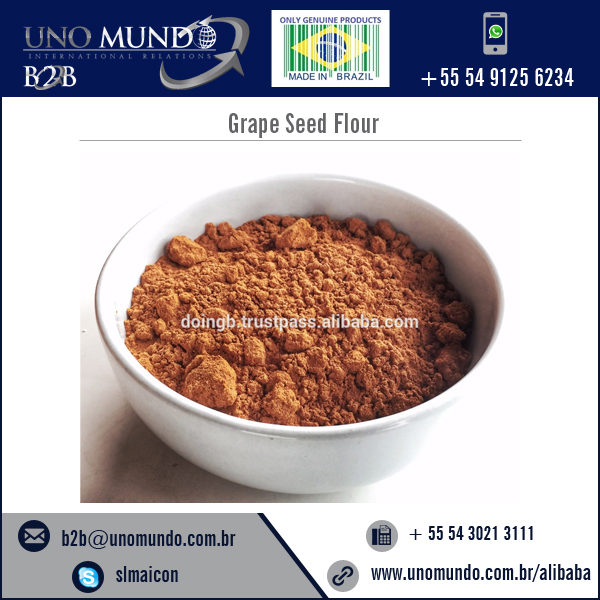 Organic Grade Grape Seed Flour at Wholesale Price