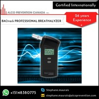 Personal and Professional Use Alcohol Breath Tester in Compact Size