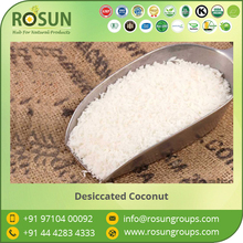 Fresh and Creamy Look Organic Medium Fat Desiccated Coconut Available Market Price