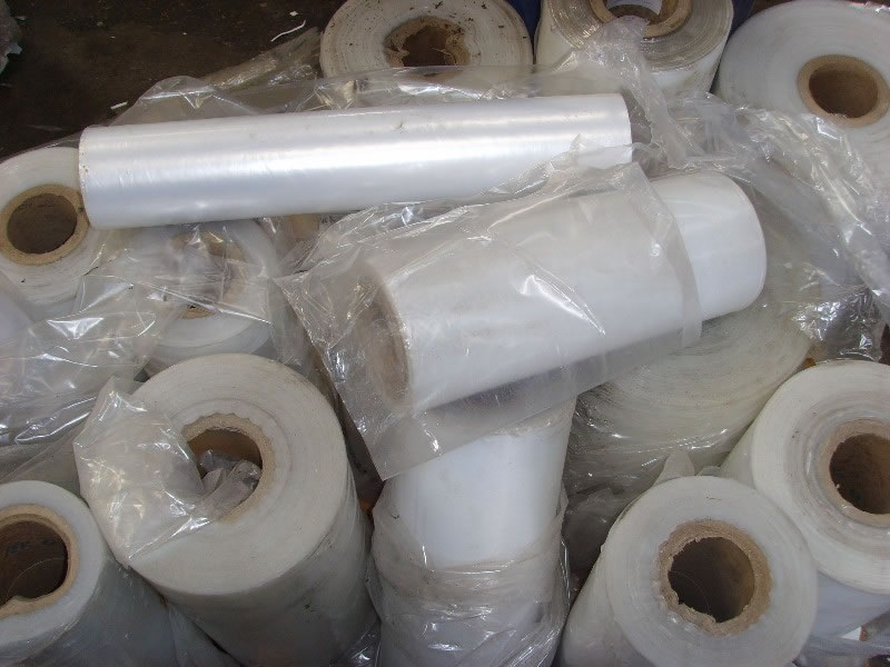 ldpe plastic film scrap PE plastic mulch stretch film