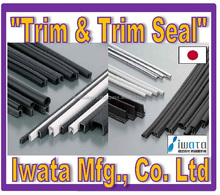 High quality and Reliable boat window rubber seal Trim and Trim Seal with multiple functions made in Japan