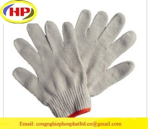 Cheapest and high quality cotton gloves/white cotton glove from Vietnam/Hot sales cotton gloves