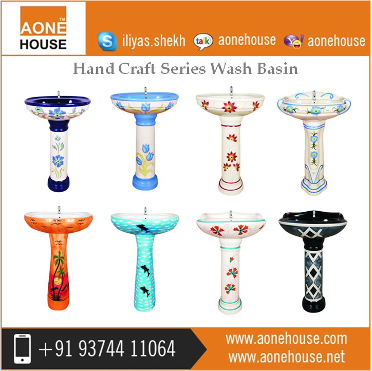 Ceramic Wash Hand Basin Reasonable Price in India for Bulk Purchase