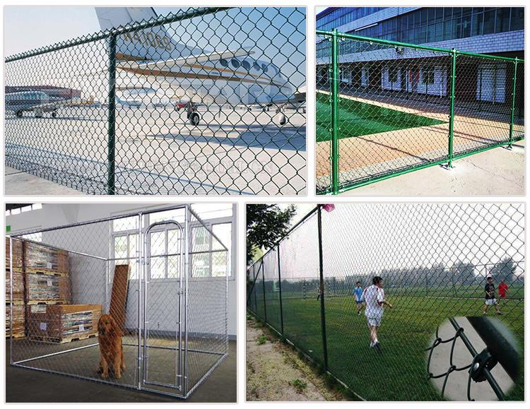 Hot Sale Green Chain Link Fence Installation Fittings