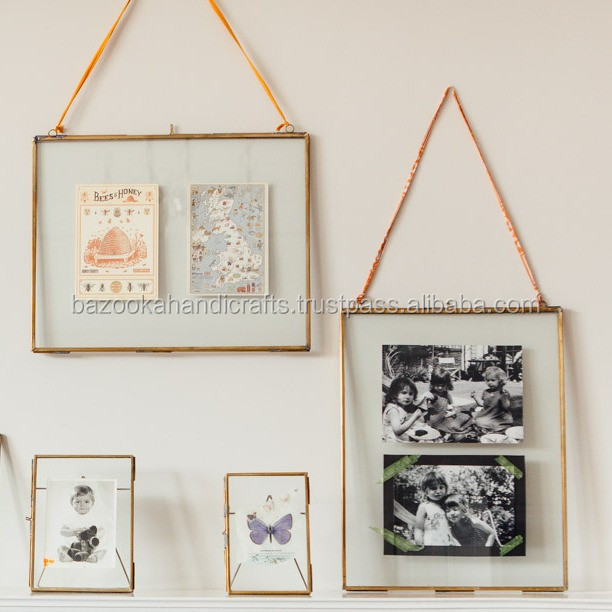 Photo Frame, Decorative Frame, Double Sided Glass Float Frame
