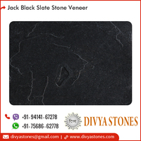 Water Impermeable Slate Stone Veneer for Furniture Fronts/Door Use