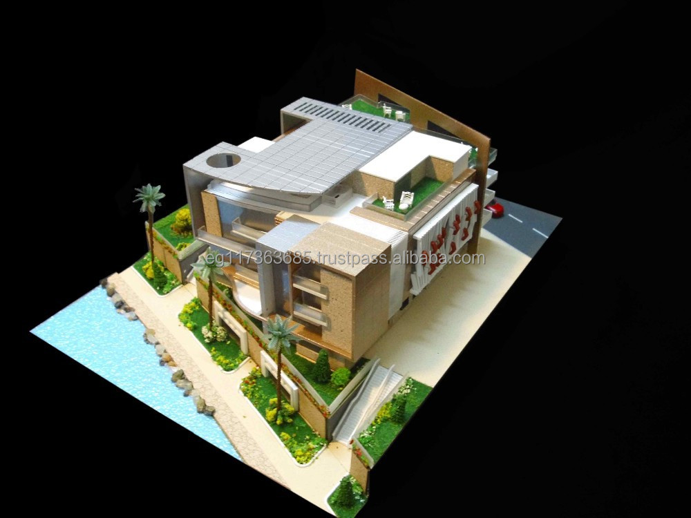 Architecture House Model no.1 scale model making /residential house scale model making