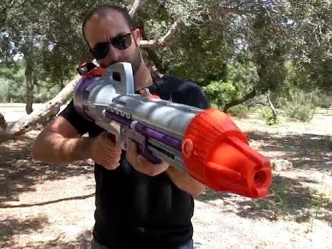 NERF SUPER SOAKER CPS 2000 - MOST POWERFUL HIGH PRESSURE WATER GUN | WATER CANNON