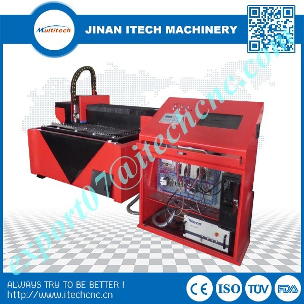 2016 factory price laser cutting machine fiber 500w