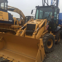 Original UK JCB 3CX backhoe loader for sale in China