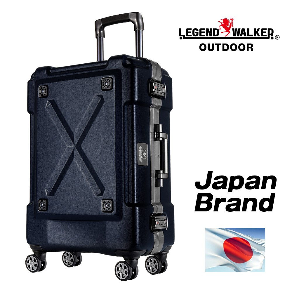 Outside trolley and double-casters and Japan brand travelling bag with multiple functions