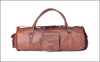 Comfortable Handle Leather Traveller Bag