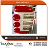 Spice Jar Rack with Unbreakable ABS Plastic Body