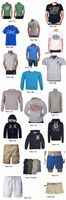 t shirt polo hoodies pants jacket pullover sweatshirt short