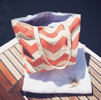 New Trend Canvas Beach Bag - Manufacturer in Istanbul
