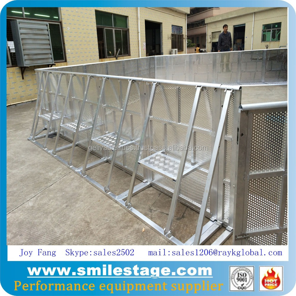 Aluminum Mobile Fans Security Control Barriers