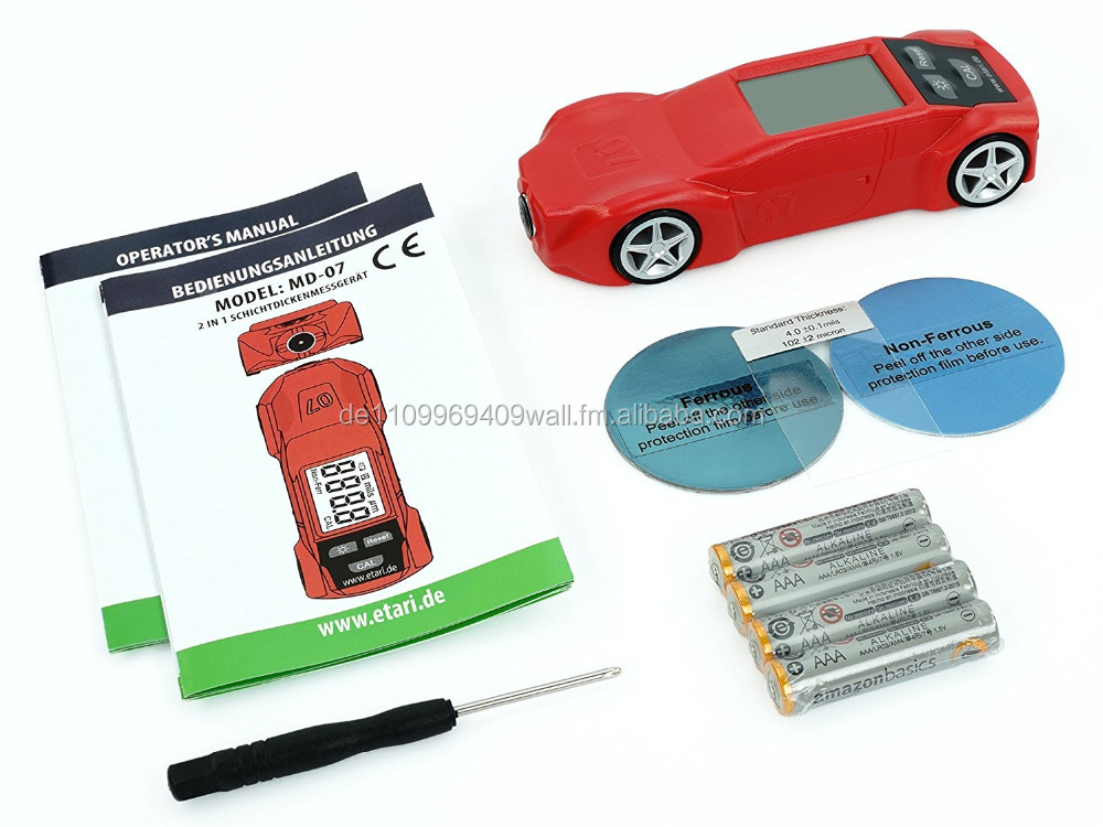 Thickness Coating Gauge, Car-paint coating gauge MD 07,The best gift for any car purchase