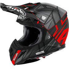 2017 Airoh Aviator 2.2 Styling Red Matt Off Road Helmet