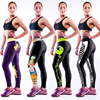 Custom Performance Sublimation Leggings Print Workout Leggings Women YOGA Running Pants Work out Gym Leggings Fitness Tight