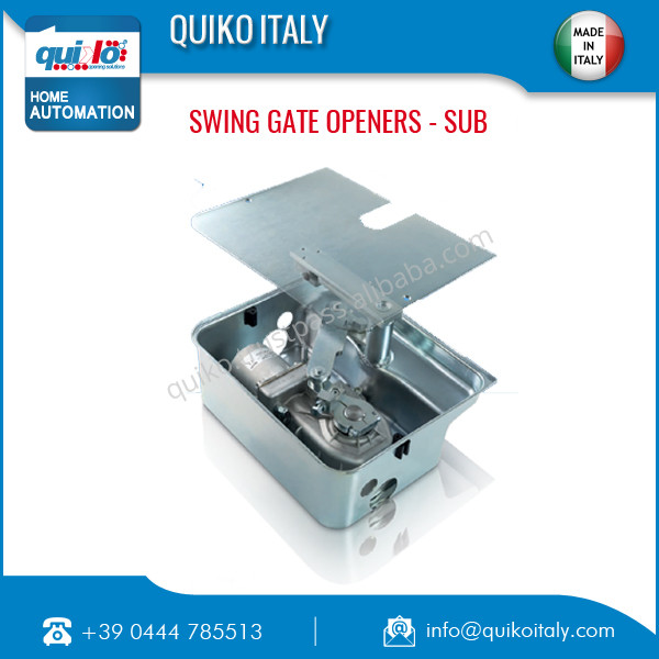 Italian Underground Swing Gate Opener Made in Italy