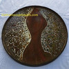 Lacquer Pressed Paper Tray With A