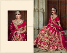 bollywood fashions designer red color lehnga choli