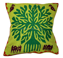 Exclusive Tree Applique Work Cushion Covers Buy Online