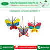 2016 New Vibrant Colour Hand made Hanging Butterfly for Sale