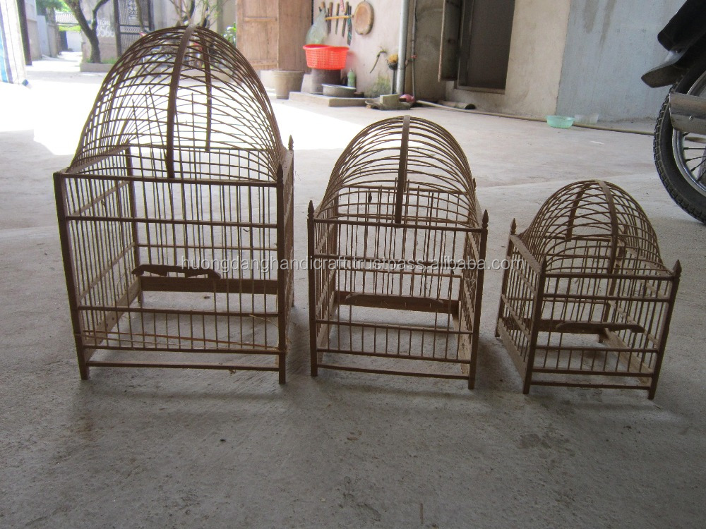 Natural Bamboo bird cages - High quality - Attractive design - Good price