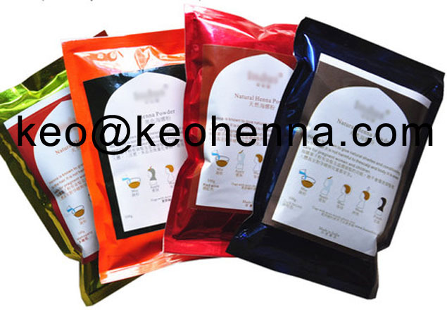 Henna bulk cosmetic products