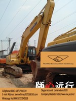 used komatsu PC 200 excavator for sale in china, japan made