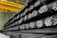 Reinforcing Steel Bars, Building Construction Material, High Tensile Strength