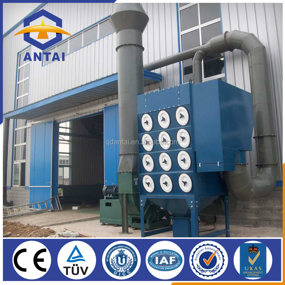 hot sale filter cartridge dust collector for grinding machines