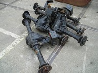 5 x unused agricultural mini tractor axles