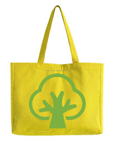 Reusable and colorful eco-friendly shopping cotton bags