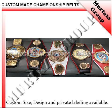 Village Custom made Championship Belts, LION Boxing Custom made Championship Belts. Boxing Championship Belts