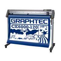 GRAPHTEC CE6000-120 Cutter Plotter 48inches