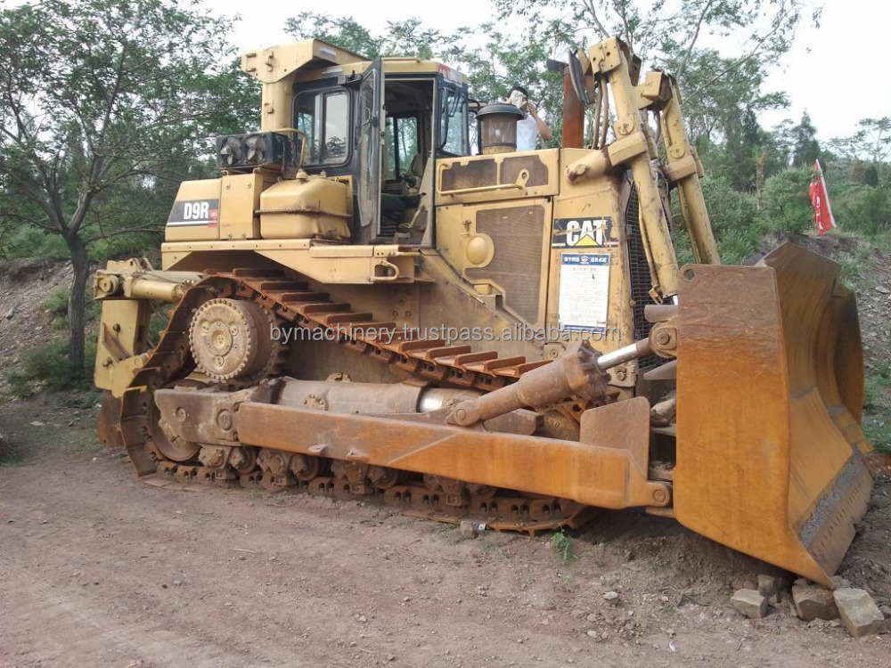 Used CAT Bulldozer D9 Caterpillar D9R dozer For Sale