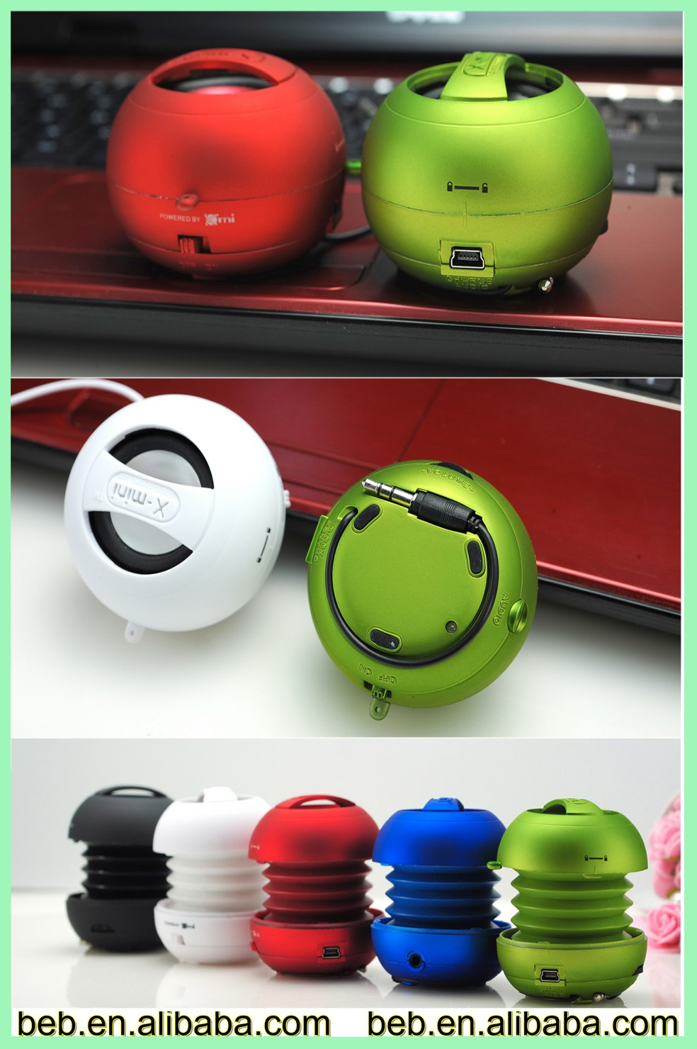 Hamburger shape bluetooth speaker compatible with android ios cellphone speaker