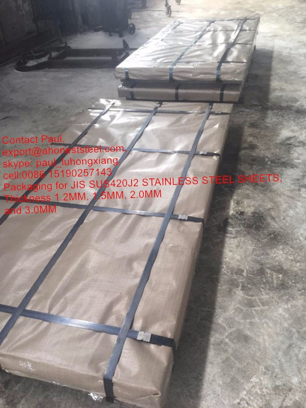 DIN 1.4034 ( AISI 420C, X46Cr13 ) hardenable stainless steel plates
