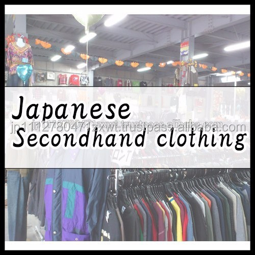 Clean Untouched Fashion Used Clothing from Japan at reasonable prices