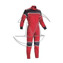 Filling kart racing suit