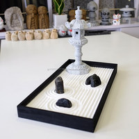 High quality and Traditional Style zen design Miniature Garden for interior use