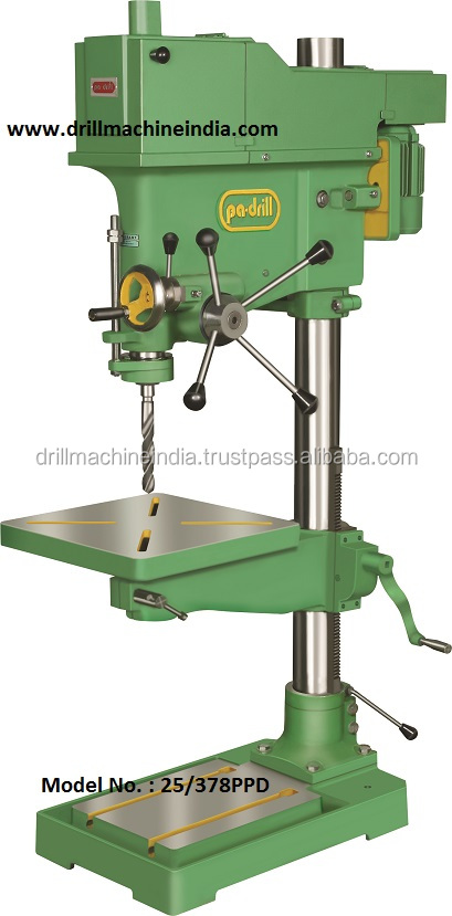 25 mm Cap. 378 mm Center Vertical Drilling Machine Model No. 25/378PPD