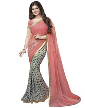 Bollywood Designer Printed Saree for Women / SAREE
