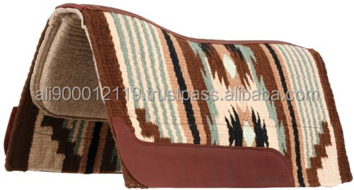 Woolen western saddle pad Horse saddle pad