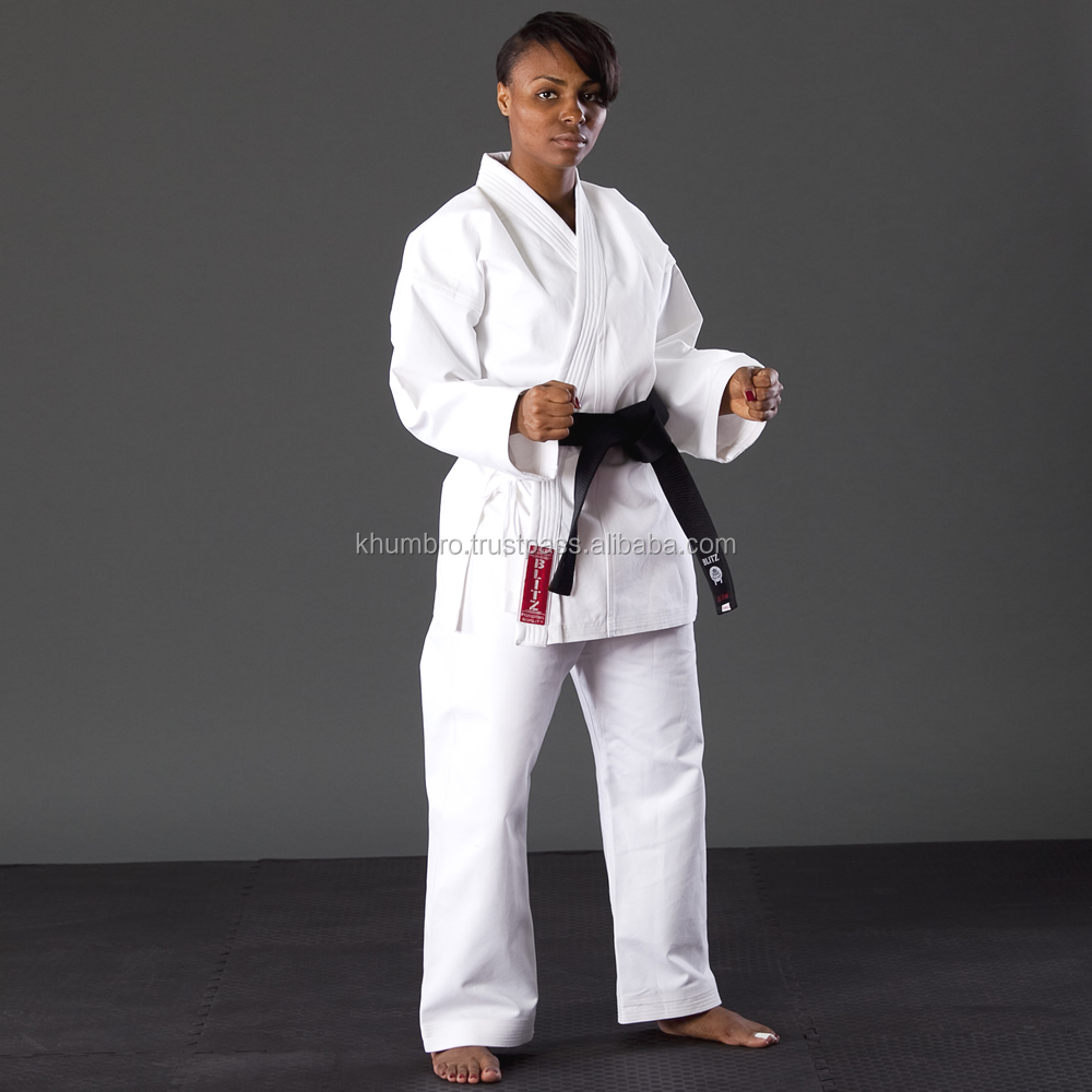14 oz Canvas karate uniform,Heavy weight karate gi uniform