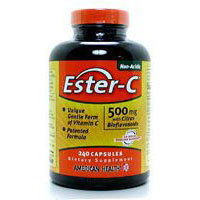 Ester-c With Citrus Bioflavonoids, 500 mg, 450 Vegitabs by American Health