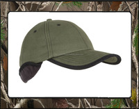 Branded quality comfortable ear muff camo cap,hunting camo cap/Hats for wholesale